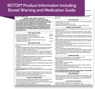 Patient Brochure And Medication Guide Botox 174 For Oab